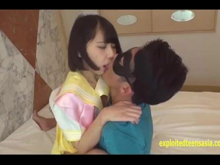 Cute Teen Jav Amateur Nana Shoves The Guys Cock In Her Shaved Schoolgirl