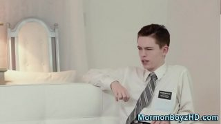 Uniform mormons fuck raw