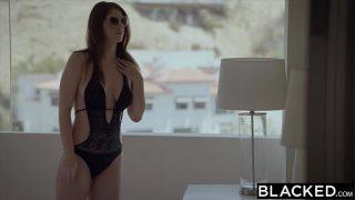 Girlfriend Karina White Cheats with BBC on Vacation