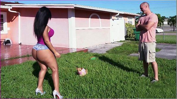 Latina Rose Monroe's Big Ass Bouncing On Sean Lawless's Cock