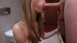 Intense Blowjob with Cum in Mouth