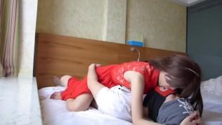 Chinese girlfriend hotel sex tape