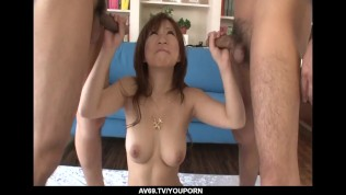 Busty Japan milf supreme xxx play