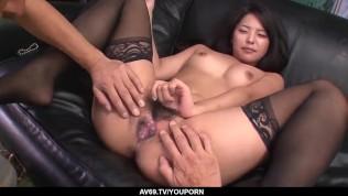 Eririka Katagiri fucks a lot and enjoys Japanese cum