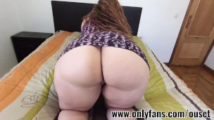 Latin girl fucks with sexy dress
